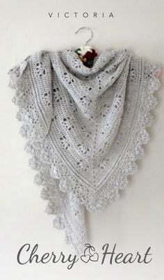 Victoria Shawl Crochet Pattern