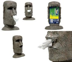 Tissue paper paper and the day on pinterest - Nose tissue dispenser ...