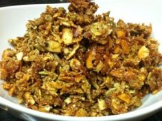 Paleo-Crunch-  has lots of nuts