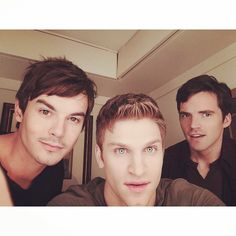 We can't wait for more Tyler Blackburn, Keegan Allen, and Ian Harding! | Pretty Little Liars