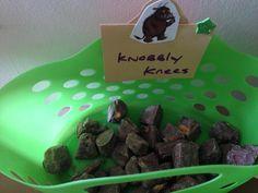Knobbly knees.... Gruffalo party