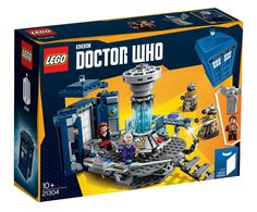 "Conquer time and space with Lego's new ""Doctor Who"" set. It comes complete with two Doctors, a companion, a folding TARDIS and enough villains to keep everybody in danger."