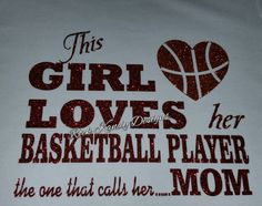 Basketball Mom This Girl Loves Her Basketball Player by KandyCoat