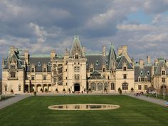 The Biltmore Estate may lack the castle moniker, but with that glorious French Renaissance façade—and at almost 200,000 square feet—it certainly fits the bill. The home was built to be used as a summer residence. The estate is still owned by the Vanderbilts—making it the largest privately owned home in the country.  Tours are available.