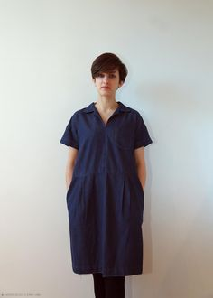 Merchant and Mills Factory Dress #sewing #making #merchantandmills