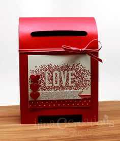 Creativity Within : Scattered Love Mail box #stampinup #seasonallyscattered #displaysamples