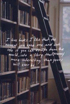 I love books...