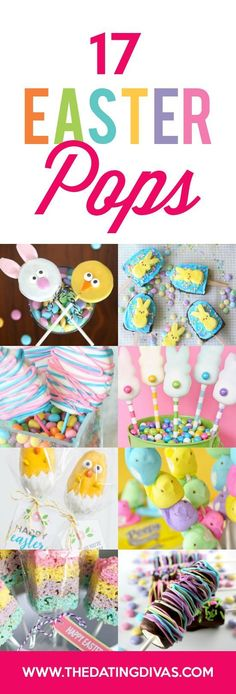DARLING Easter Pops and Treats