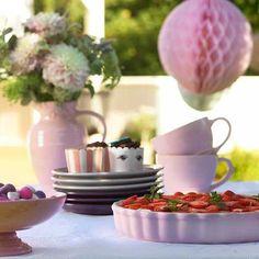 Le Creuset Tarte-Form 28 cm Chiffon Pink Bleywaren