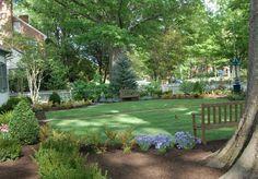 Front yard garden design | Before and after photos | Glorious Gardens | Richmond, VA