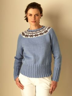 Natural Elements Fair Isle | Yarn | Free Knitting Patterns | Crochet Patterns | Yarnspirations