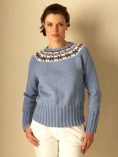 Natural Elements Fair Isle | Yarn | Free Knitting Patterns | Crochet Patterns | Yarnspirations