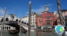 Canais de Veneza em Itália, Viajar Europa