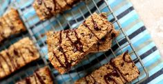Soft Baked Oat Snack Bars  #oats #snack #recipe #RecipeOfTheDay #snacktime