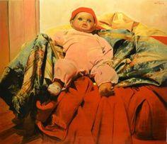 "Saatchi Art Artist Marco Ortolan; Painting, "".THE KING"" #art"