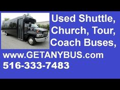 Used Passenger Shuttle Bus For Sale by NY Dealership | Call CHARLIE @ 516-333-7483 | 2005 Chevrolet C5500 25 Passenger Shuttle Bus For Sale