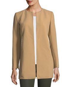 Bessie Long Wool Jacket