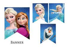 frozen_elsa_anna_olaf_bunting_printable_banner
