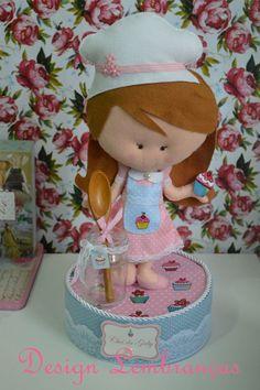 Boneca cozinheira