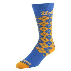 Women's Mojo Ucla Bruins Argyle Socks, Size: 9-11, Blue