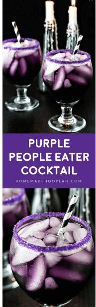 awesome Purple People Eater Cocktail
