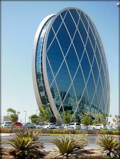 Aldar Headquarters Building - Abu Dhabi  ....{by Bassam}