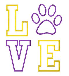 Hey, I found this really awesome Etsy listing at http://www.etsy.com/listing/159981191/lsu-love-tigers-applique-embroidery
