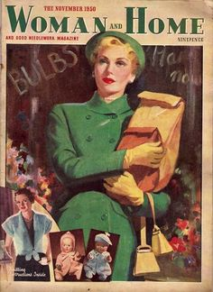 Woman and Home magazine from November 1950