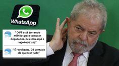 Um áudio vazado no whatsapp mostra uma conversa telefônica entreduas jornalistas que fazem cobertura política em Brasília Não sabemosao certo o nome dasjornalistas, porém o teor da conversamost…