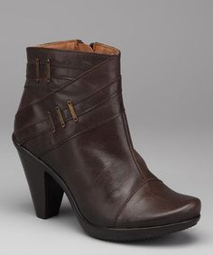 Take a look at this Brown Tao Ankle Boot by Eric Michael by Laurevan on #zulily today!
