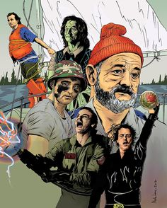 The Inimitable Bill Murray, 32 Different Ways