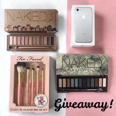 INTERNATIONAL GIVEAWAY Ive partnered with my favourite bloggers to give one lucky follower this amazing iPhone 7 two sets of Naked make up and a Too Faced brush set To participate: 1. Follow me 2. Like this picture 3. Go to @denizcolak_ and repeat the steps 4. Follow this same steps on every account until you come back to me or the account you started with and leave a comment when youre done. If you want a double chance to win tag/mention some real friends on the comments below and like my…