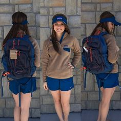 {Pullover $119|| Visor $25|| Backpack $99} Comment below with PayPal to purchase and ship or comment for 24 hour hold #repurposeboutique#shoprepurpose#boutiquelove#style#trendy#musthaves#obsessed#fashion#spring#patagonia#backpack#visor#pullover