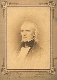 Portrait of James K. Polk (1795-1849)