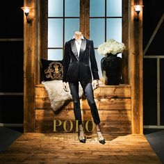 "NORDISKA KOMPANIET, Stockholm, Sweden, ""What do you mean 'How was my day?'.... Didn't you read my blog?"", for Polo Ralph Lauren, pinned by Ton van der Veer"