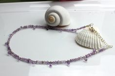 Purple Amethyst Necklace www.kimberlyhahnstreasures.com