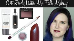 Phyrra shares a Get Ready With Me Fall Makeup Tutorial and a casual Fall outfit. Burgundy is a great color this season!