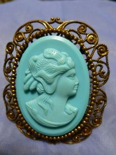 Turquoise Vintage CA fashion love