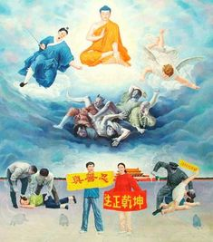 """Selections from the """"Uncompromising Courage Fine Art Exhibit""""(2)   Falun Dafa - Minghui.org"""