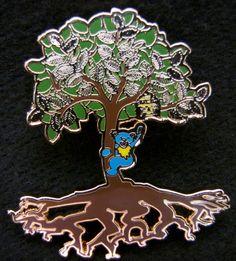 Grateful Dead Hat Pins   Grateful Dead How Sweet It is tree of life lapel/hat pin