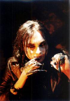 Cradle of fear demon/vampire creature Dani Filth, Mercyful Fate, Cradle Of Filth, King Diamond, Aerosmith, Iron Maiden, Metal Bands, Black Metal, Hard Rock