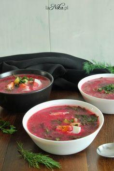 Gotowa zupa z botwinki 1 Salsa, Cooking Recipes, Food And Drink, Ethnic Recipes, Kochen, Salsa Music, Cooker Recipes, Restaurant Salsa, Food Recipes