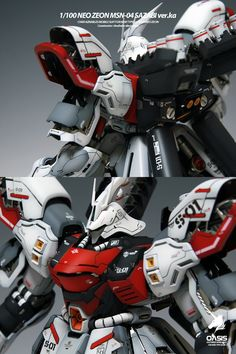 MG 1/100 Sazabi Ver. Ka - Painted Build     Modeled by gonzo2000