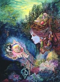 Daughter of the Deep Josephine Wall Birthday Cards
