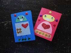 Robot Cards!