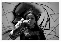 #graffiti #women Graffiti Girl, Tat, Street Art, Girly, School, Sleeve, Ideas, Women, Women's