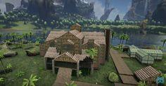 Ark Survival Evolved, PS4, base design ideas