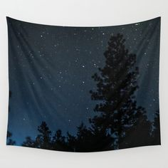 This reminded me to paint stars in glow in the dark paint on the tree mural wall!