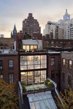 Le studio basé à New York Fractal Construction a rénové le Gramercy Park Townhouse,Gramercy Park House16 – Fubiz™