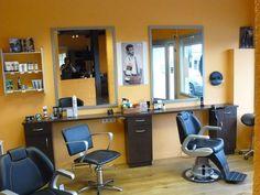 Les 24 meilleures images de Salon coiffure homme | Salon ...
